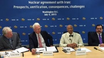 Panel on Iran Nuclear Negotiations:  Prospects of Nuclear Agreement, Challenges, Verification & Policy Options