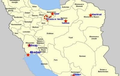 Opposition Group Claims Iran Sponsoring New Terror Training Camps - Isis Training Camps In Us Map