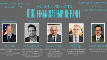 Panel Discusses IRGC's Financial Empire