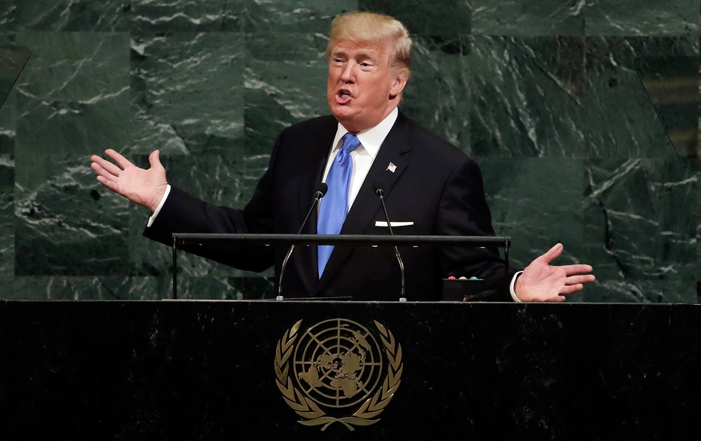 President Trump speaks at UN about Iranian Regime