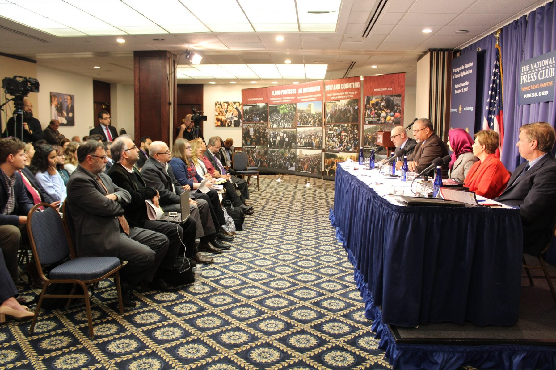 A panel of experts joined NCRI-US to discuss NCRIUS' newest publication about the 1988 Iran Massacre and how we can move forward.
