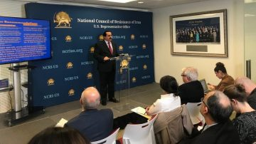 Press Conference: IRGC Leads Cyberwarfare on Iranian People, Threatens the Outside World