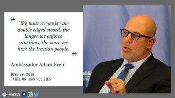 American Ambassador Claims EU-Iranian Corruption