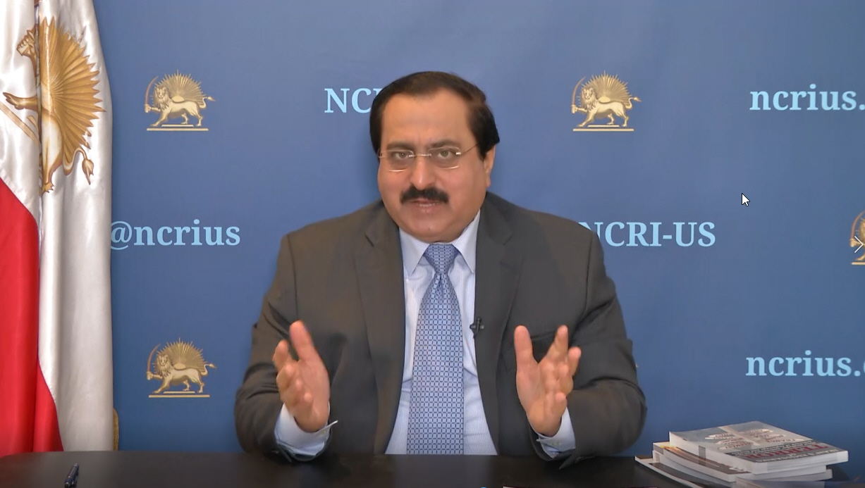 "NCRI-US Online Policy Briefing, May 8, 2020, Washington, DC - Alireza Jafazadeh: ""Easing of the ban or not vigorously enforcing it, will enable officials, particularly the commanders of the Qods Force and other intelligence and terror officials, to travel"