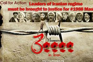 Pleading for Justice to the Victims of 1988 Mass Executions of Political Prisoners in Iran