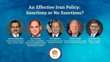 VIRTUAL POLICY BRIEFING – An Effective Iran Policy: Sanctions or No Sanctions?