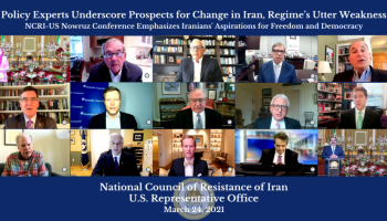 Policy Experts Underscore Prospects for Change in Iran, Regime's Utter Weakness