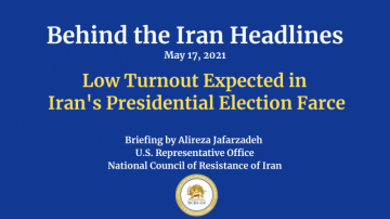 Low Turnout Expected in Iran's Presidential Election Farce