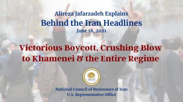 Victorious Boycott, Crushing Blow to Khamenei & the Entire Regime