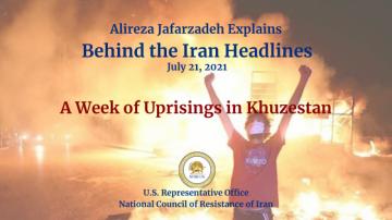 A Week of Uprisings in Khuzestan