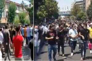 Iran Protests in Tehran Shows Society's Restiveness